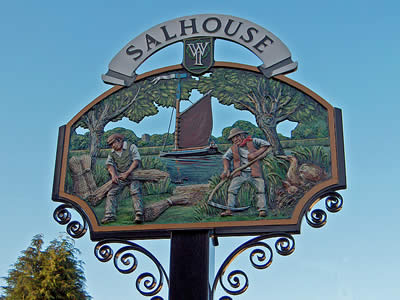 Salhouse Village Sign