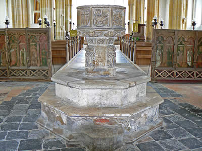 Salthouse Church Font