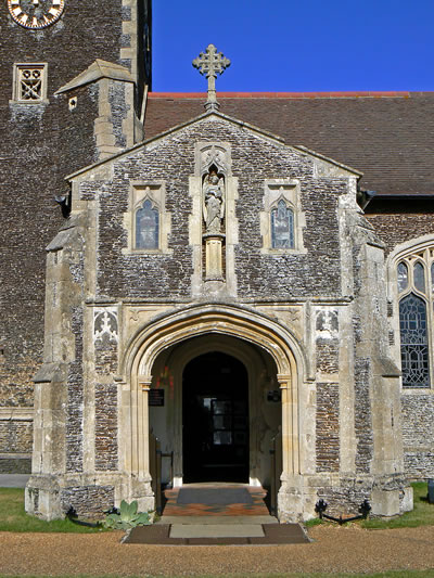 Church Entrance and Porch