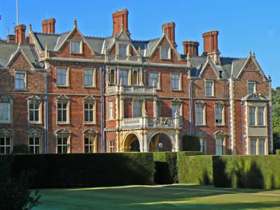 Sandringham House Back