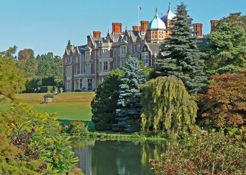 Sandringham House and Lake