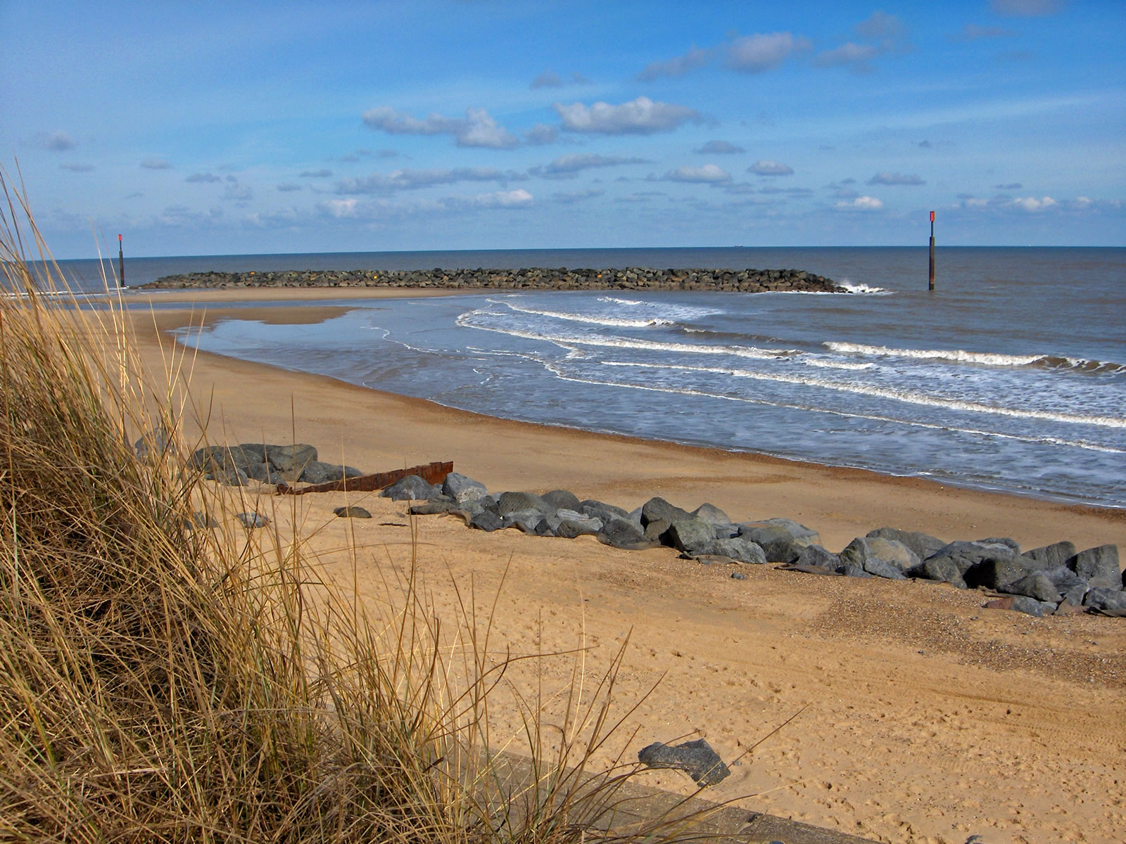 Sea Palling, East Norfolk Coast, including Beach Rock ...