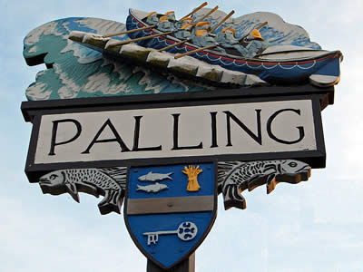 Sea Palling Village Sign