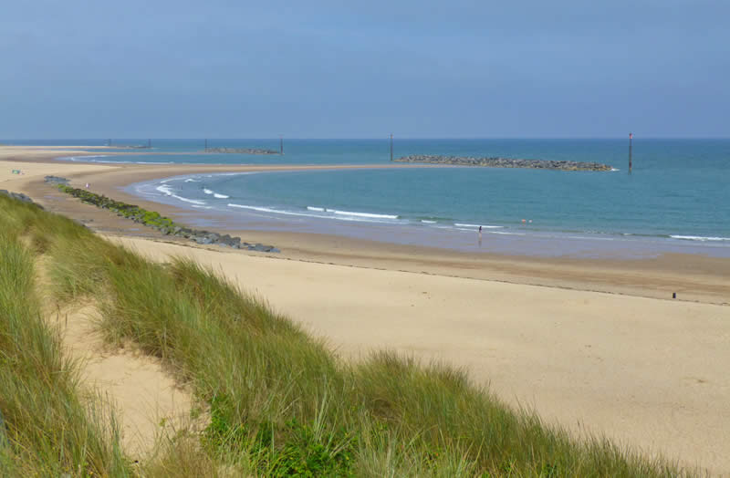 Sea Palling Beach View