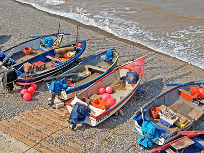 Norfolk Fishing Boats