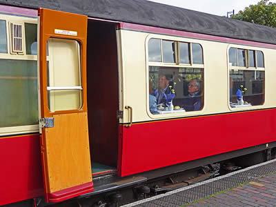 North Norfolk Railway Dining Carriage
