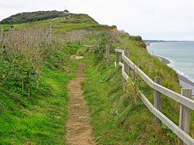 Sheringham Cliff Path