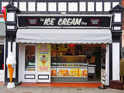 Sheringham Ice Cream Shop