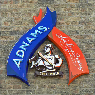 Adnams Brewery Sign