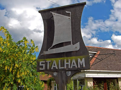 Stalham Town Sign