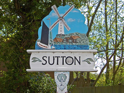 Sutton Village Sign