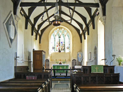 Inside Thurne Church
