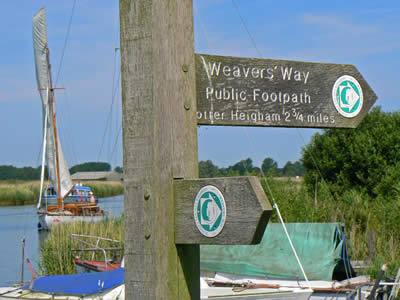 Norfolk Broads Footpath