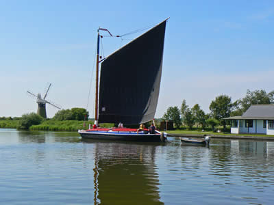Wherry at Thurne