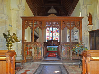 Filby Church Rood