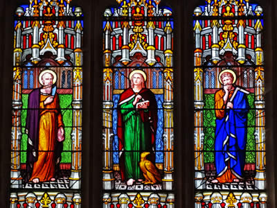 Stained Glass Filby Church