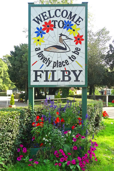 Filby Village Sign