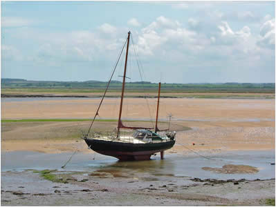Boat on Mud