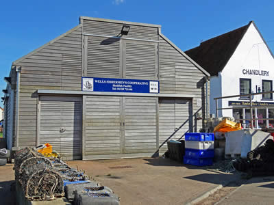 Wells Fishing Shed