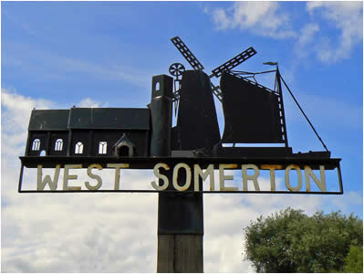West Somerton Village Sign