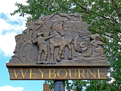 Wybourne Village Sign