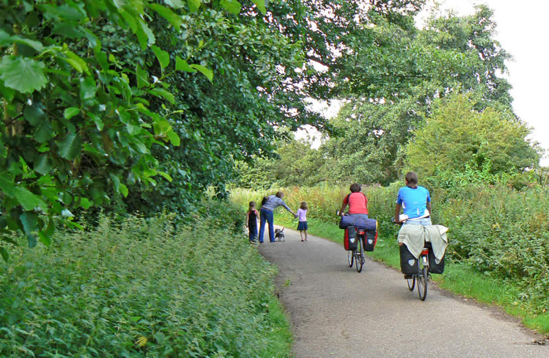 Cycling and Walking at Whitlingham