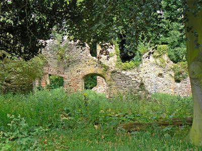 Ruin of Trowse Newton Hall