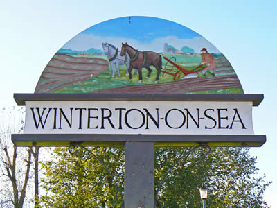 Winterton Village Sign