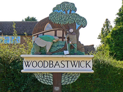 Woodbastwick Village Sign