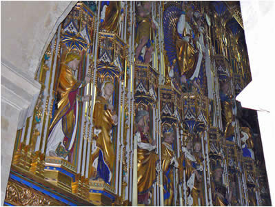 Wymondham Abbey Gilded Screen