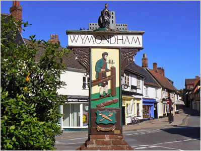 Wymondham Town Sign