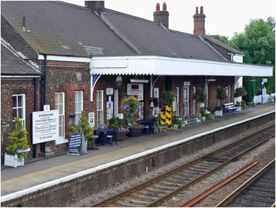 Wymondham Station